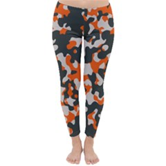 Camouflage Texture Patterns Classic Winter Leggings