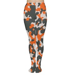 Camouflage Texture Patterns Women s Tights