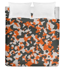 Camouflage Texture Patterns Duvet Cover Double Side (queen Size)