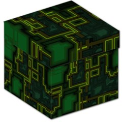 A Completely Seamless Background Design Circuit Board Storage Stool 12