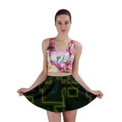 A Completely Seamless Background Design Circuit Board Mini Skirt