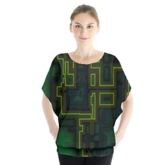 A Completely Seamless Background Design Circuit Board Blouse