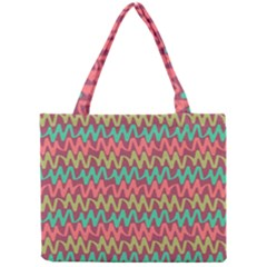 Abstract Seamless Abstract Background Pattern Mini Tote Bag