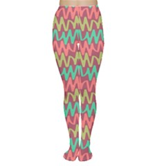 Abstract Seamless Abstract Background Pattern Women s Tights