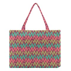 Abstract Seamless Abstract Background Pattern Medium Tote Bag