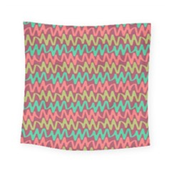 Abstract Seamless Abstract Background Pattern Square Tapestry (small)