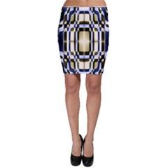 Colorful Seamless Pattern Vibrant Pattern Bodycon Skirt