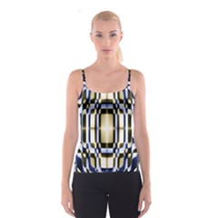 Colorful Seamless Pattern Vibrant Pattern Spaghetti Strap Top