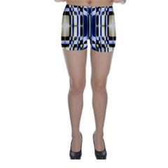 Colorful Seamless Pattern Vibrant Pattern Skinny Shorts
