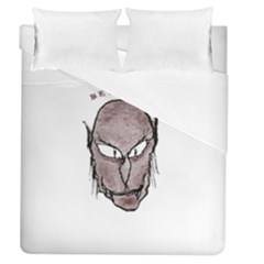 Scary Vampire Drawing Duvet Cover (Queen Size)