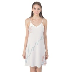 Love Card Flowers Camis Nightgown