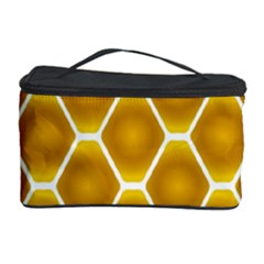 Snake Abstract Background Pattern Cosmetic Storage Case