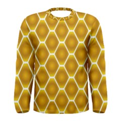 Snake Abstract Background Pattern Men s Long Sleeve Tee