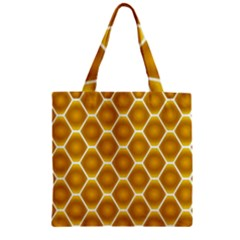 Snake Abstract Background Pattern Zipper Grocery Tote Bag