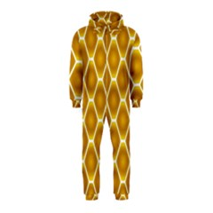 Snake Abstract Background Pattern Hooded Jumpsuit (Kids)