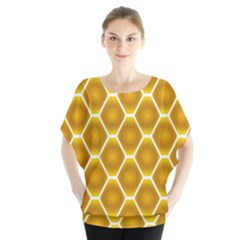 Snake Abstract Background Pattern Blouse