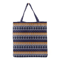 Seamless Abstract Elegant Background Pattern Grocery Tote Bag
