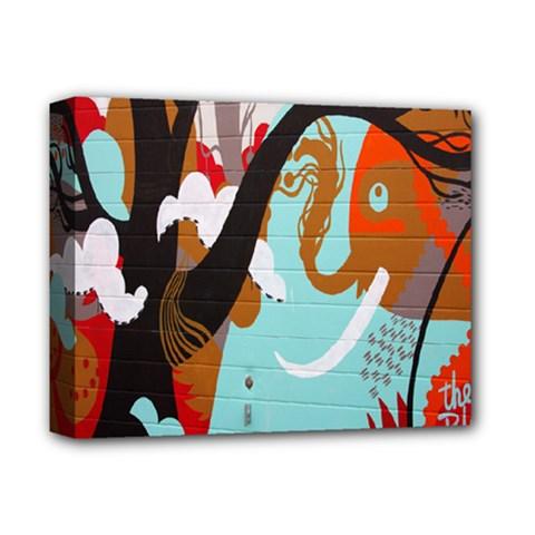 Colorful Graffiti In Amsterdam Deluxe Canvas 14  x 11