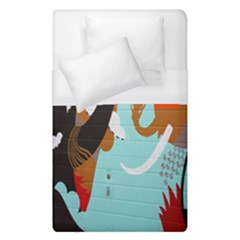 Colorful Graffiti In Amsterdam Duvet Cover (single Size)