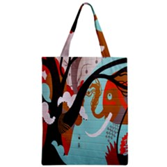 Colorful Graffiti In Amsterdam Zipper Classic Tote Bag