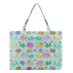 Cute elephants  Medium Tote Bag