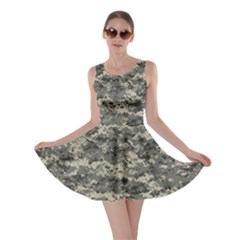 Us Army Digital Camouflage Pattern Skater Dress