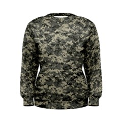 Us Army Digital Camouflage Pattern Women s Sweatshirt