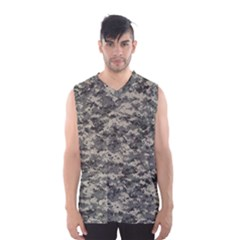 Us Army Digital Camouflage Pattern Men s Basketball Tank Top