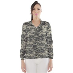 Us Army Digital Camouflage Pattern Wind Breaker (women)