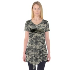 Us Army Digital Camouflage Pattern Short Sleeve Tunic