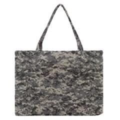 Us Army Digital Camouflage Pattern Medium Zipper Tote Bag