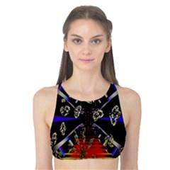 Diamond Manufacture Tank Bikini Top