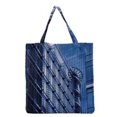 Building Architectural Background Grocery Tote Bag