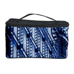 Building Architectural Background Cosmetic Storage Case