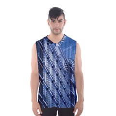 Building Architectural Background Men s Basketball Tank Top
