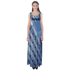 Building Architectural Background Empire Waist Maxi Dress