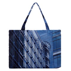 Building Architectural Background Medium Zipper Tote Bag