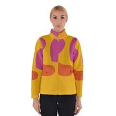 Emoji Face Emotion Love Heart Pink Orange Emoji Winterwear