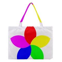 Fan Star Floral Medium Tote Bag