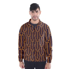 Chains Abstract Seamless Wind Breaker (men)
