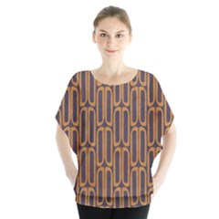Chains Abstract Seamless Blouse