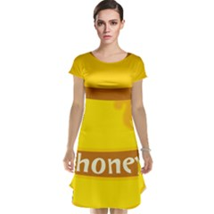 Honet Bee Sweet Yellow Cap Sleeve Nightdress