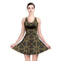 Digitally Created Seamless Pattern Tile Reversible Skater Dress