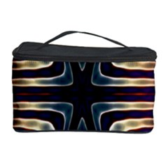 Vibrant Pattern Colorful Seamless Pattern Cosmetic Storage Case