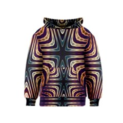 Vibrant Pattern Colorful Seamless Pattern Kids  Pullover Hoodie