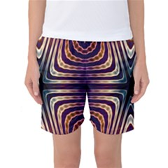 Vibrant Pattern Colorful Seamless Pattern Women s Basketball Shorts
