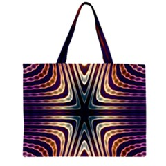 Vibrant Pattern Colorful Seamless Pattern Large Tote Bag