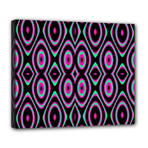 Colorful Seamless Pattern Vibrant Pattern Deluxe Canvas 24  x 20