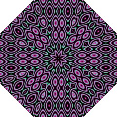 Colorful Seamless Pattern Vibrant Pattern Hook Handle Umbrellas (Large)