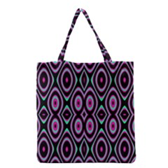 Colorful Seamless Pattern Vibrant Pattern Grocery Tote Bag